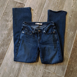 Levi's bootcut 529 Curvy Size 4 Dark Wash Jeans